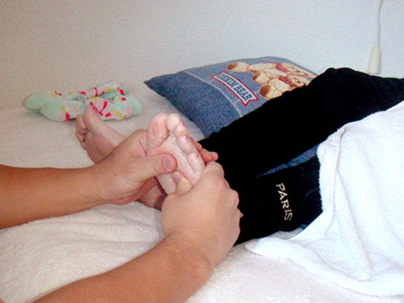 3.足部の骨間筋のリラクゼーション
