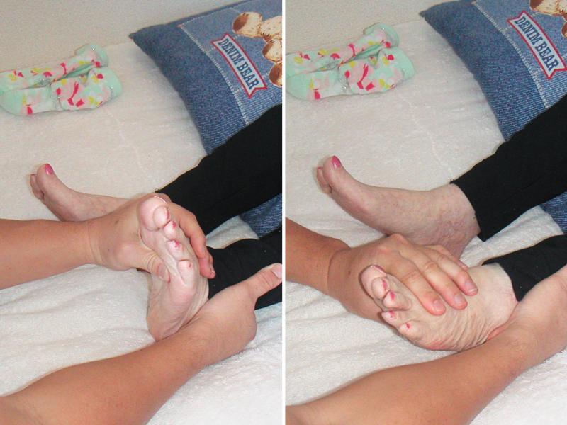 4.足関節の底背屈運動